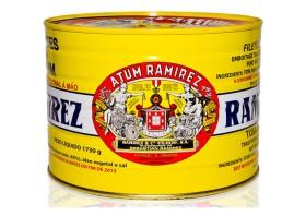 Filets de thon à l'huile d'olive 1730g - Ramirez - Conserves de thon du Portugal