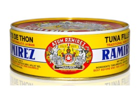 Filets de thon à l'huile d'olive 800g - Ramirez - Conserves de thon du Portugal