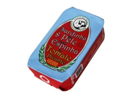 Sardines sans peau ni arête à la tomate piquante - Cego de Maio - Conserves de sardines du Portugal