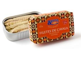 Conserves de filets de maquereaux - Briosa - Conserverie Portugal Norte - Conserves de sardines du Portugal