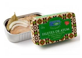 Conserves de filets de thon aux oignon laurier - Briosa - Conserverie Portugal Norte - Conserves de sardines du Portugal
