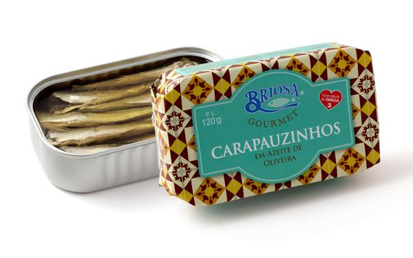 Conserves de petits chinchards – Briosa – Conserverie Portugal Norte – Conserves de sardines du Portugal
