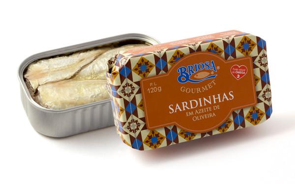 Conserves de sardines à l'huile d'olive – Briosa – Conserverie Portugal Norte – Conserves de sardines du Portugal