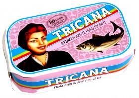 Filets de thon épicé à l'huile d'olive Tricana