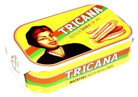 Filets de maquereaux au citron - Tricana - Conserves de maquereaux du Portugal