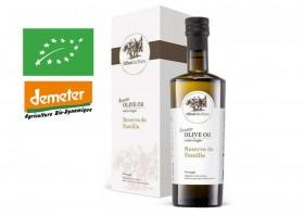 Risca Grande -Réserve Familiale coffret - Huile d'olive bio du Portugal