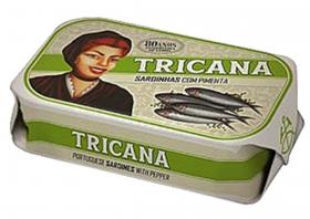 Sardines à l'huile d'olive épicée Tricana