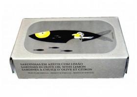 Sardines au citron - José Gourmet - Conserves de sardines du Portugal