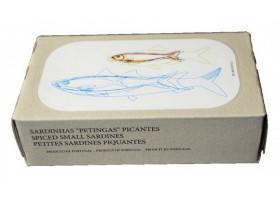 Sardinettes épicées à l'huile d'olive - José Gourmet - Conserves de sardines du Portugal