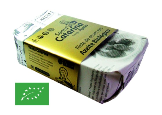 Filets thon Bio – Santa Catarina – Conserves de thon bonito des Açores
