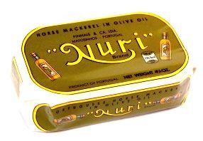 Chinchards à l'huile d'olive Nuri Pinhais