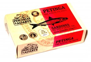 Petites sardines à l'huile d'olive épicée Pescaria do Algrave