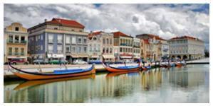 La ville de Aveiro surnommée la Venise portugaise