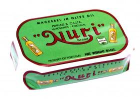 Maquereaux à l'huile d'olive Nuri Pinhais