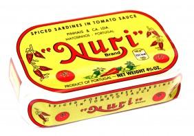 Sardines à la tomate piquante Nuri Pinhais