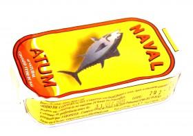 Filets de thon au naturel Naval