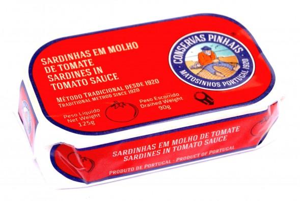 Sardines à la tomate Pinhais