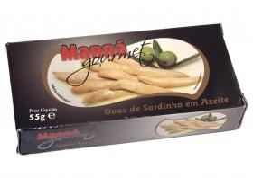 Oeufs de sardines à l'huile d'olive Manna