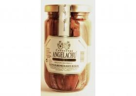 Filets d'anchois à l'huile d'olive Angelachu