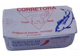 Filets de Thon Bonito à la tomate Corretora