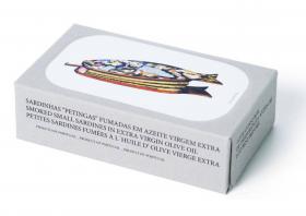 Petites sardines fumées à l'huile d'olive José Gourmet