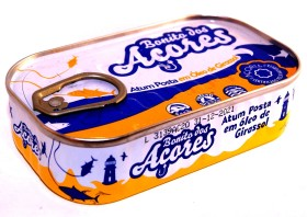 Miettes de thon à l'huile de tournesol - Santa Catarina - Conserves de thon bonito des Açores