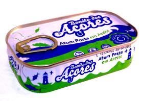 Miettes de thon à l'huile d'olive - Santa Catarina - Conserves de thon bonito des Açores