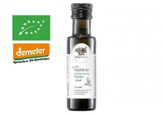 Risca Grande – Herbes méditerranéennes – Huile d'olive bio du Portugal