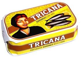 Sardines au citron et à l'huile d'olive - Tricana - Conserves de sardines du Portugal