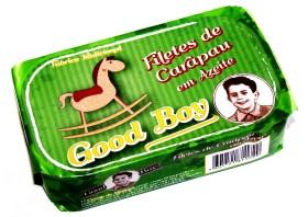 Filets de chinchards à l'huile d'olive - Good Boy - Conserves de maquereaux du Portugal