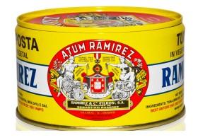 Miettes de thon à l'huile végétale - Ramirez - Conserves de thon du Portugal