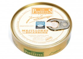 Moules à l'escabèche Los Peperetes