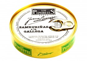 Noix de pétoncles noires à la Gallega Los Peperetes