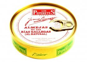 Palourdes au naturel Los Peperetes