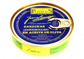 Petites sardines à l'huile d'olive-Los Peperetes