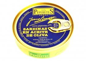 Sardines à l'huile d'olive Los Peperetes