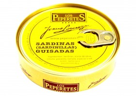 Sardines grillées Los Peperetes