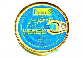 Petites sardines à l'escabèche Los Peperetes