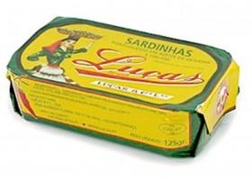 Sardines à l'huile d'olive épicée - Luças - Conserves de sardines du Portugal