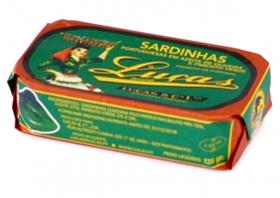 Sardines Luças Poivron vert
