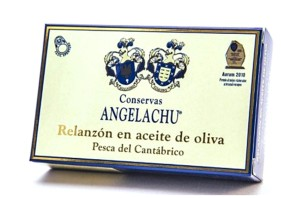 Anguilles 118g -Angelachu - Conserves d'anguilles de Santoña - Cantabrie