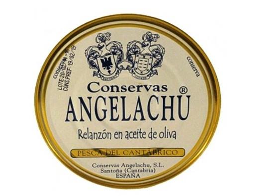 Anguilles 280g Angelachu – Conserves d'anguilles de Santoña – Cantabrie