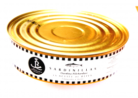 Petites sardines à l'huile d'olive 525g Real Conservera Espanola