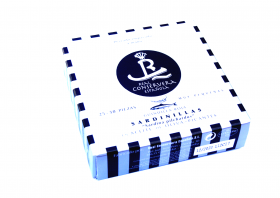 Petites sardines à l'huile d'olive piquante 25-30 Real Conservera Espanola