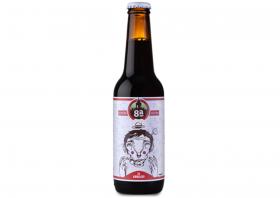 Bière brune Zé Arnaldo de la brasserieOitava Colina