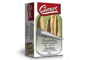 Sardines sans peau ni arêtes - Comur - Conserves de sardines du Portugal
