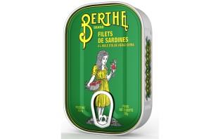 Filets de sardines à l'huile d'olive - Berthe - Conserves de sardines du Portugal