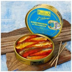 Boqueron ou petits anchois - Los Peperetes - Conserves de Galice