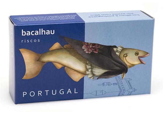 Morue à la portugaise – Riscos – Conserves de poisson du Portugal