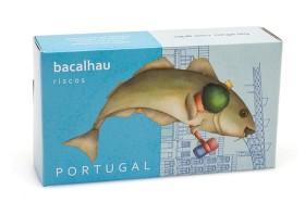 Morue aux pois chiches - Riscos - Conserves de poisson du Portugal